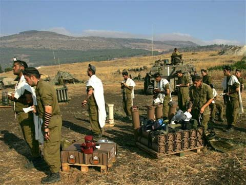 Minyan of Israeli Soldiers in Lebanon, 2006